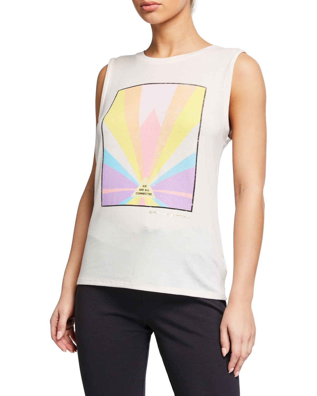 Spiritual Gangster CONNECTED CHAKRA GRAPHIC TANK