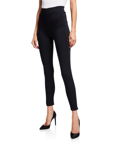 Rochelle High-Rise Pull-On Jeans