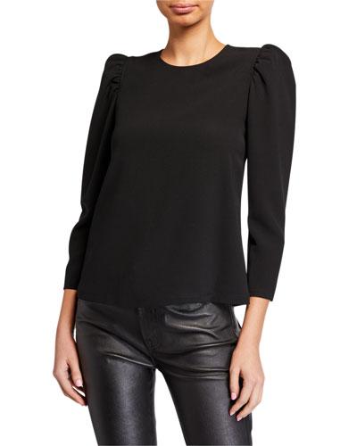 Camilla Puff-Sleeve Top