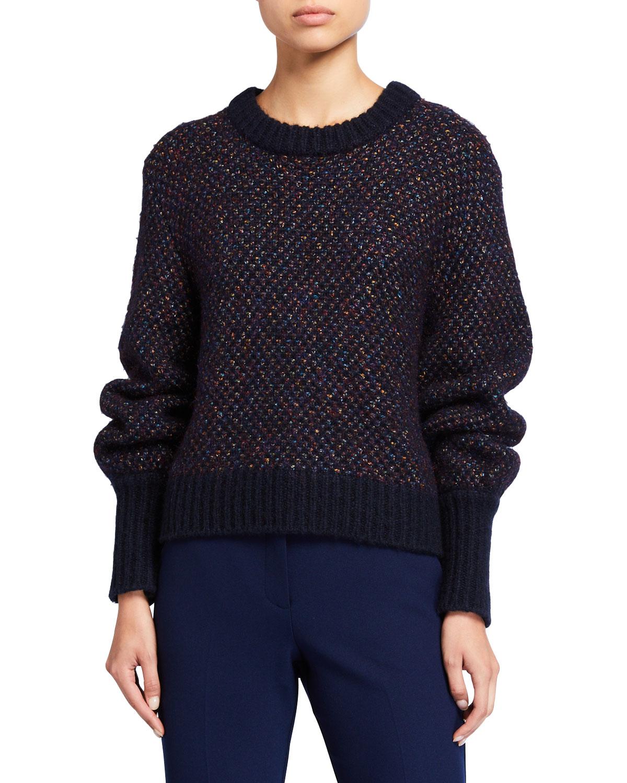 Veronica Beard Sweaters BECKIA METALLIC SWEATER