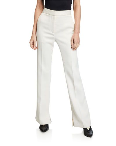 Structured Twill Pants