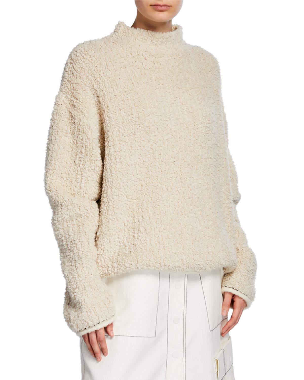 3.1 Phillip Lim Sweaters BOUCLE TURTLENECK SWEATER