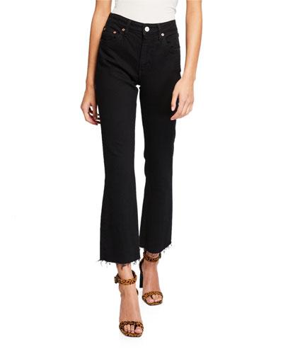 Colette Mid-Rise Kick Flare Jeans
