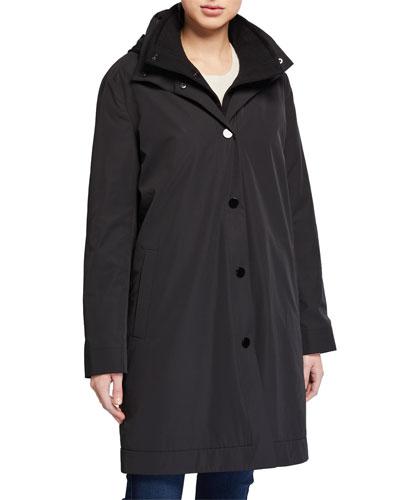 3-in-1 Hooded Double Coat