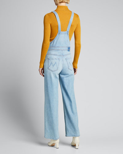 MOTHER The Greaser Ankle Overalls