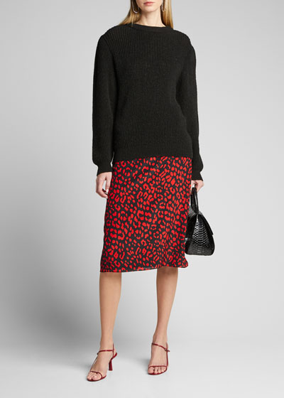 Sula A-Line Midi Skirt