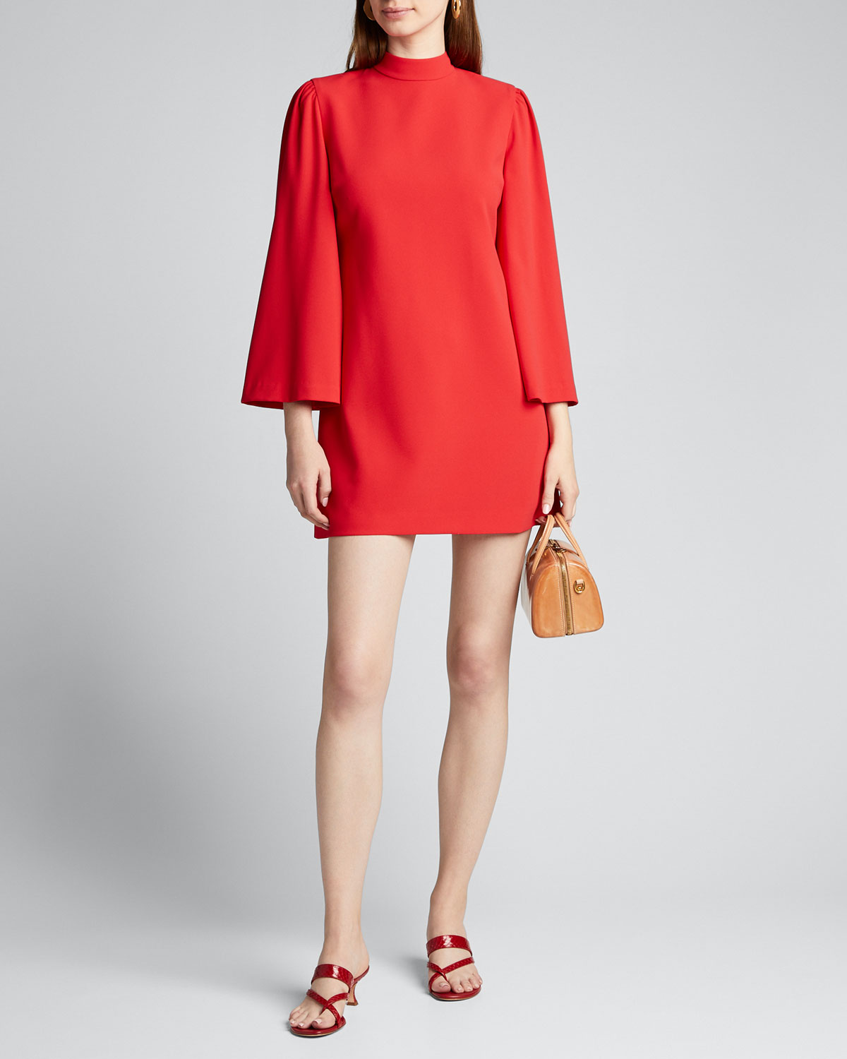 Alice And Olivia Dresses BAILEY BELL-SLEEVE DRESS
