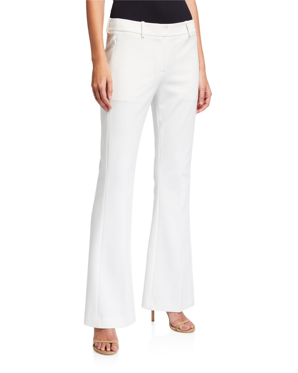 Elie Tahari Pants ANNA BOOT-CUT PANTS