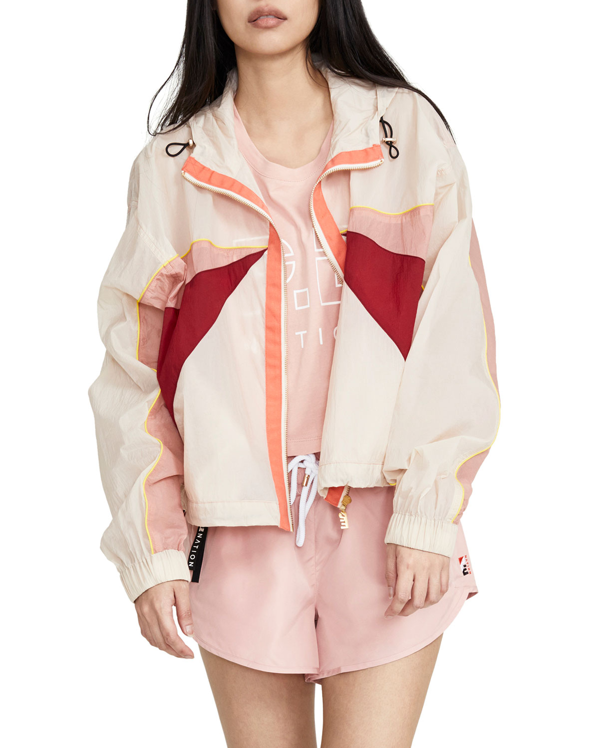 P.e Nation Jackets EXTEND COLORBLOCK JACKET