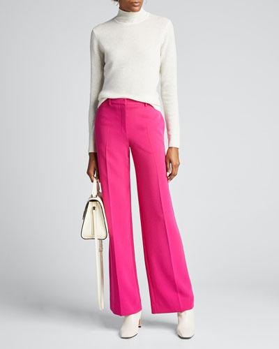 Basic Cashmere Turtleneck Sweater