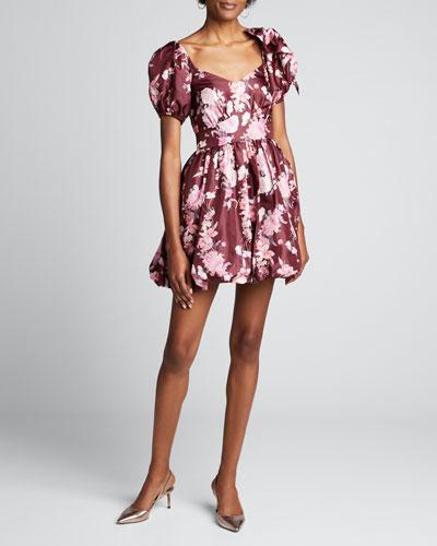 Hansel Floral-Print Fit & Flare Dress