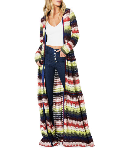 Amretha Knit Duster Dress