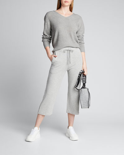 French Terry 3/4 Pants