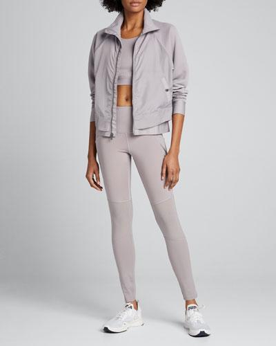 x Misty Copeland Layered Zip-Front Jacket