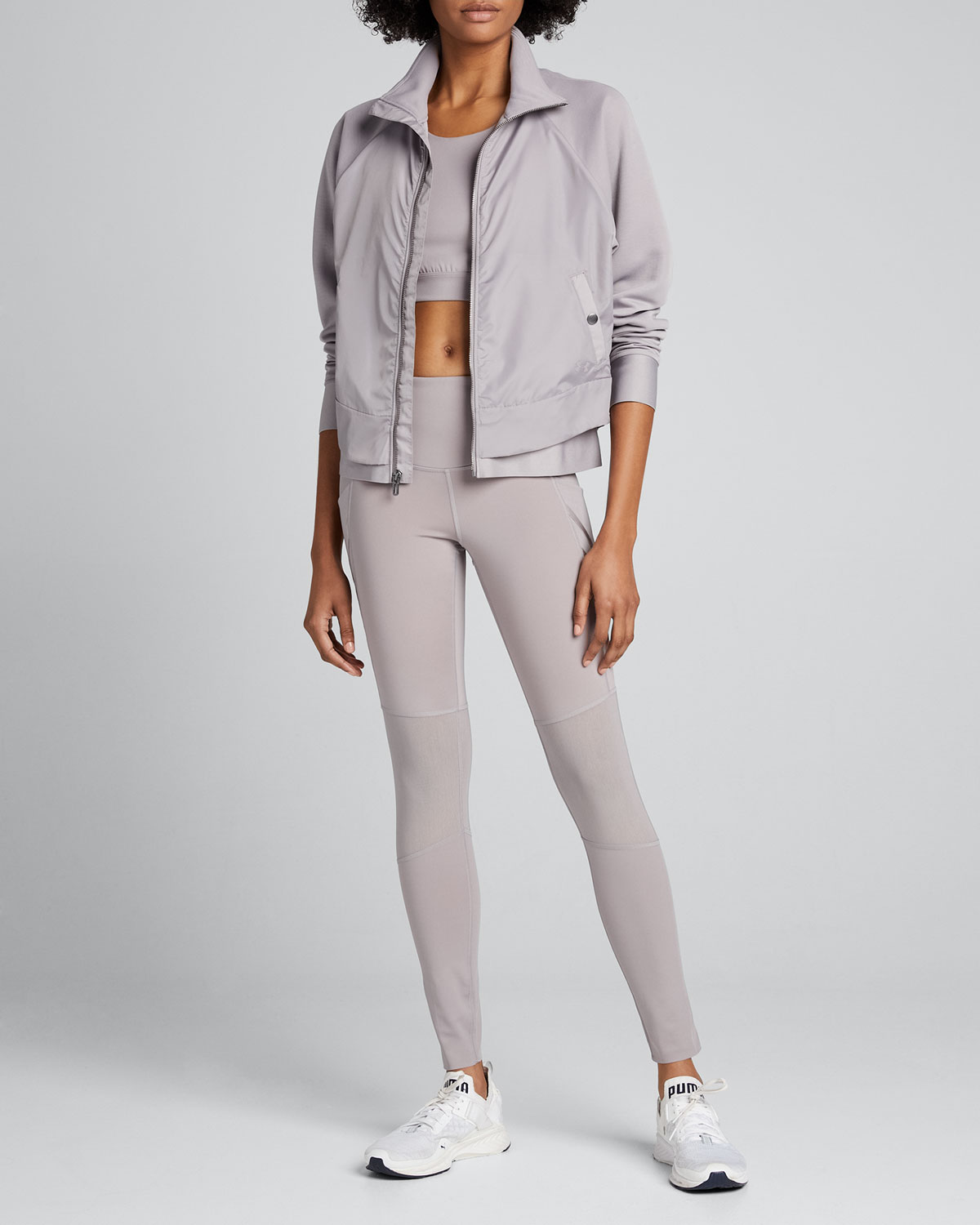 Under Armour Jackets X MISTY COPELAND LAYERED ZIP-FRONT JACKET