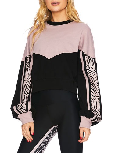 Rachel Crop Sweatshirt Top