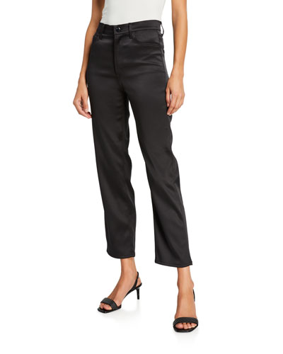 Valentina High-Rise Flare Pants