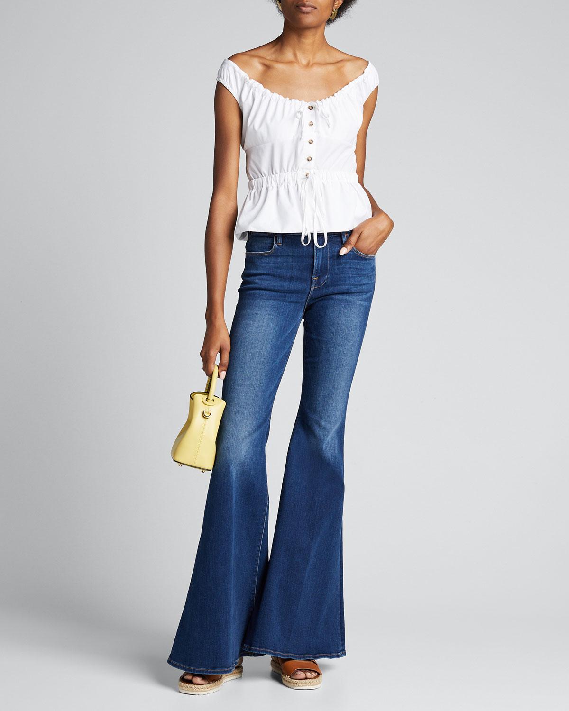 Frame Jeans LE HIGH SUPER FLARE JEANS