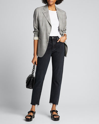 Jamie High-Rise Straight-Leg Jeans