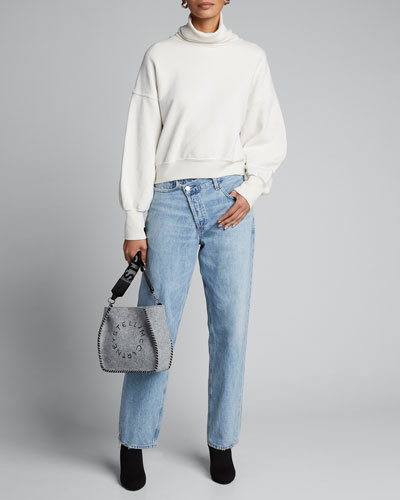 Crisscross Upsized Jeans