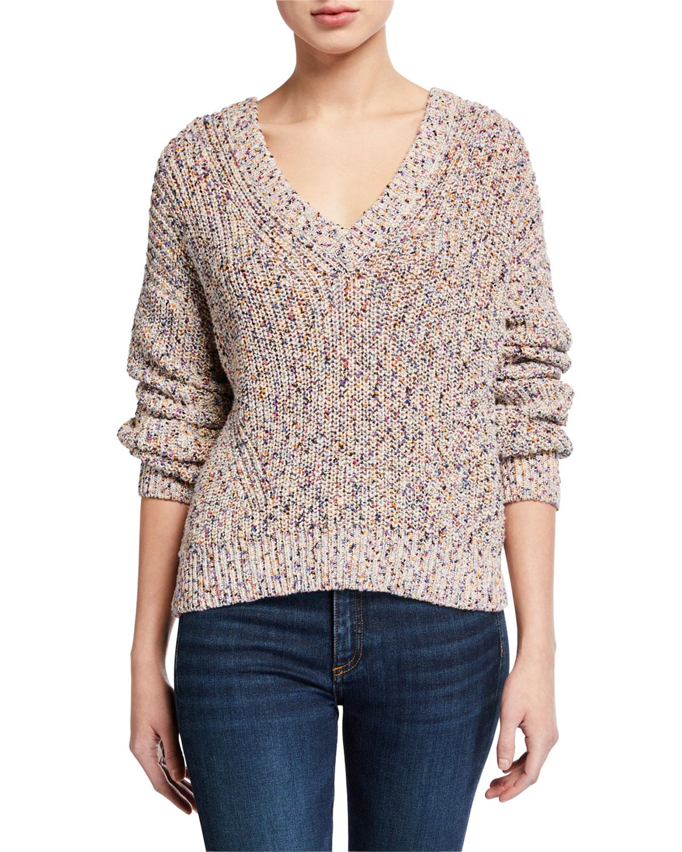 Veronica Beard Sweaters CROSBY SPECKLED SWEATER