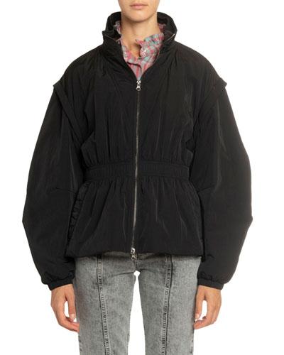 Dastya Convertible Tech Zip-Front Jacket