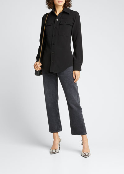 Ripley Straight-Leg Ankle Jeans