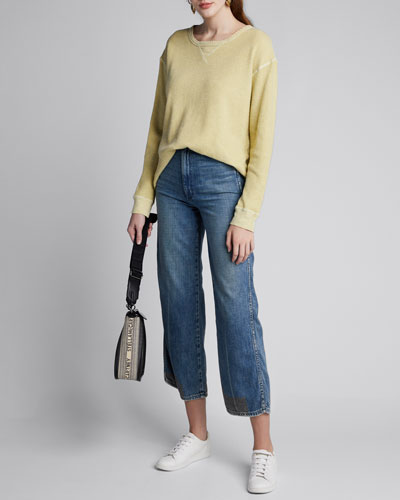 Scalloped Long-Sleeve Thermal Top