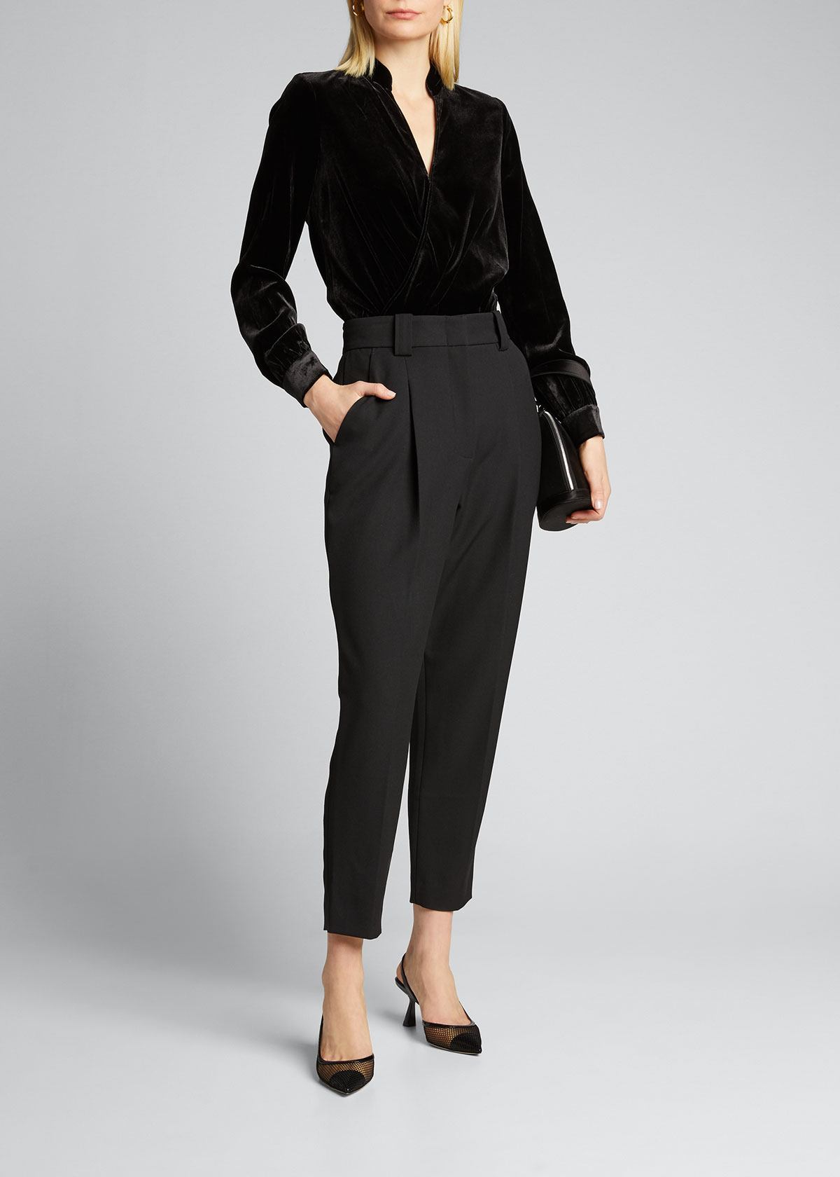 A.l.c Pants COLIN HIGH-RISE ANKLE PANTS
