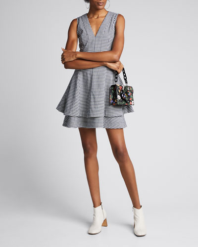 Koren Fit-and-Flare Dress