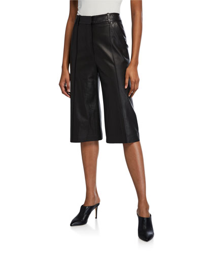 Arnold Leather Culottes