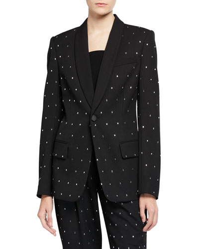 Oren Crystal-Embellished Jacket