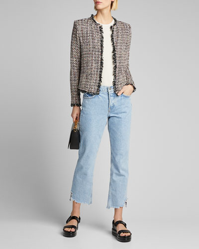 Shivani Tweed Jacket