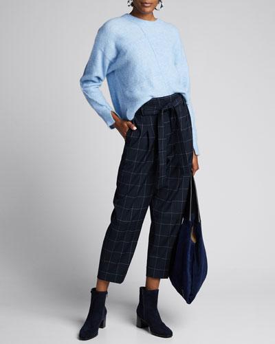 Lofty Wool Asymmetric Pullover