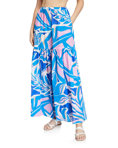 Coverup  Maxi Skirt
