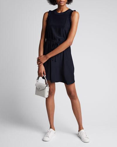 Lenore Sleeveless Ruffle Dress