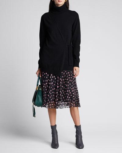 Molly Textured Dot Skirt