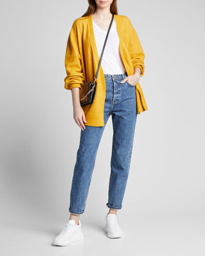 Devon Straight-Leg Cropped Jeans