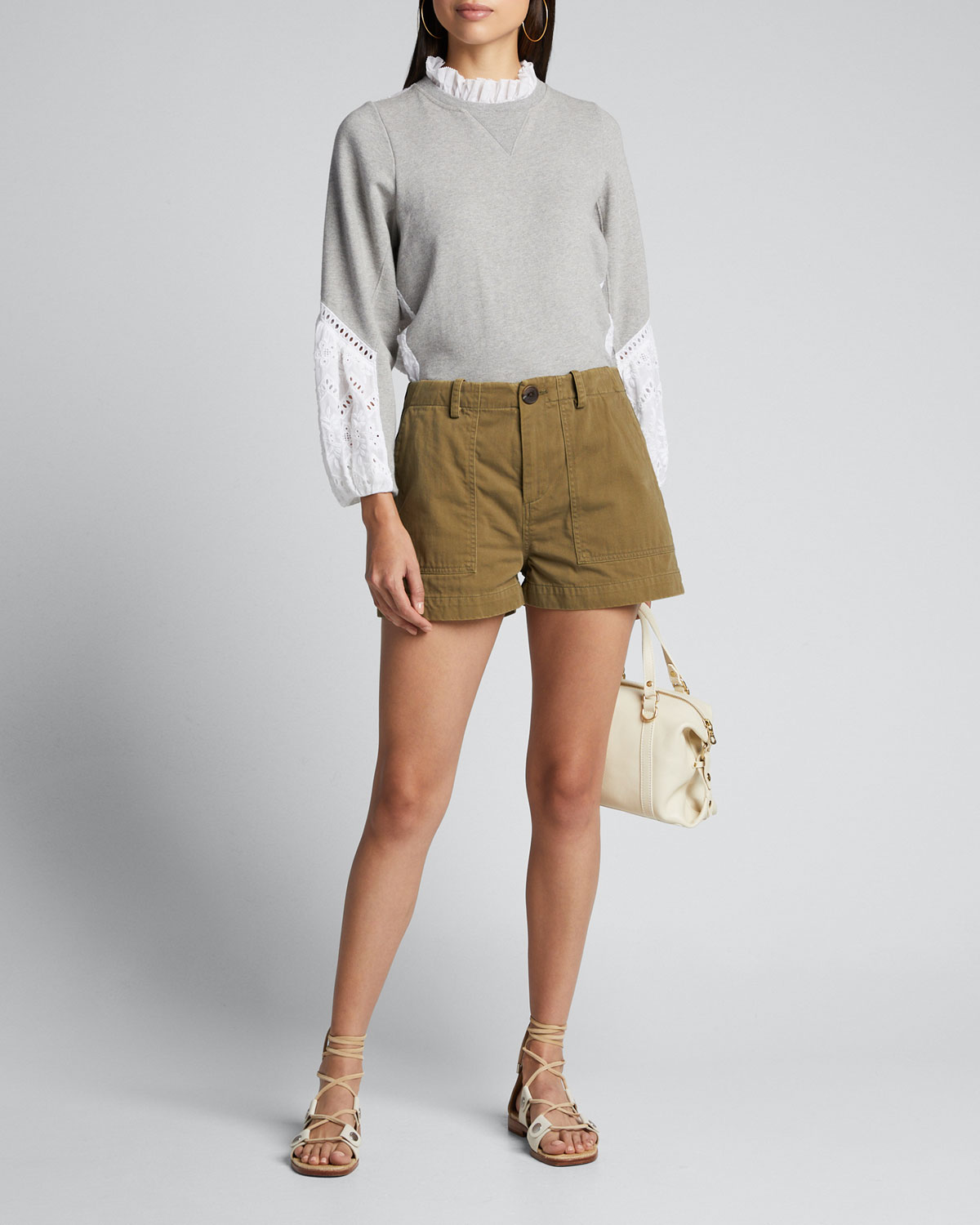 Sea Shorts ADALENE GABARDINE SHORTS