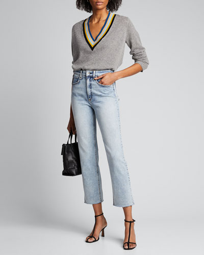 Jane Super High-Rise Ankle Cigarette Jeans