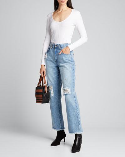 Amazing High-Rise Boyfriend Jeans