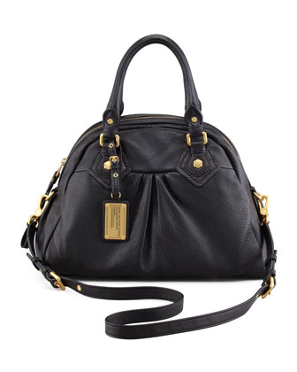 Classic Q Baby Aiden Satchel Bag, Black
