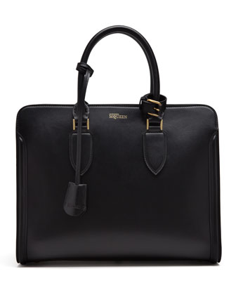 Heroine Open Tote Bag, Black