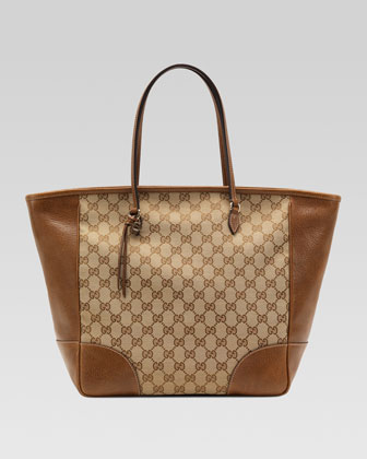 Bree Original GG Canvas Tote, Brown