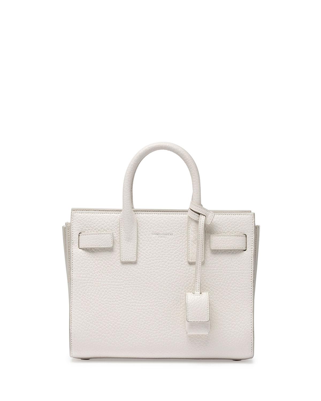Sac de Jour Mini Crossbody Bag, White