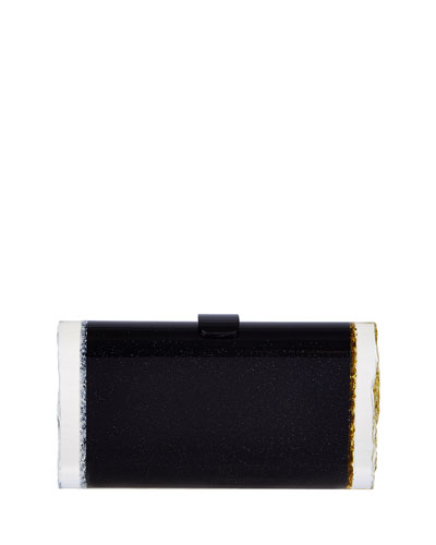 Lara Backlit Ice Clutch Bag