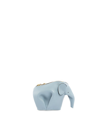 Leather Elephant Coin Purse