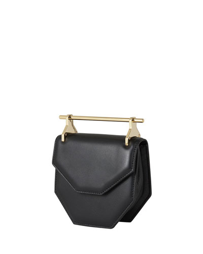 Amor Fati Mini Suede Satchel Bag