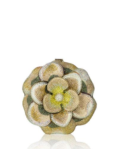 Magnolia Blossom Clutch Bag