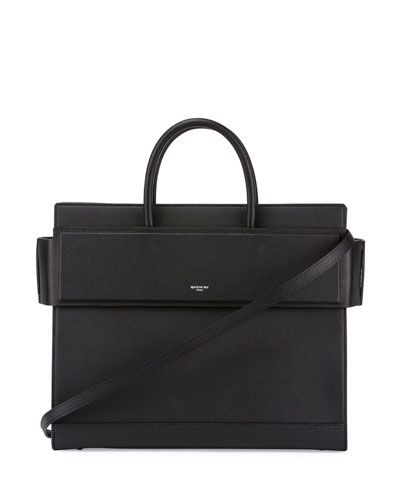 Horizon Medium Grained Leather Satchel Bag